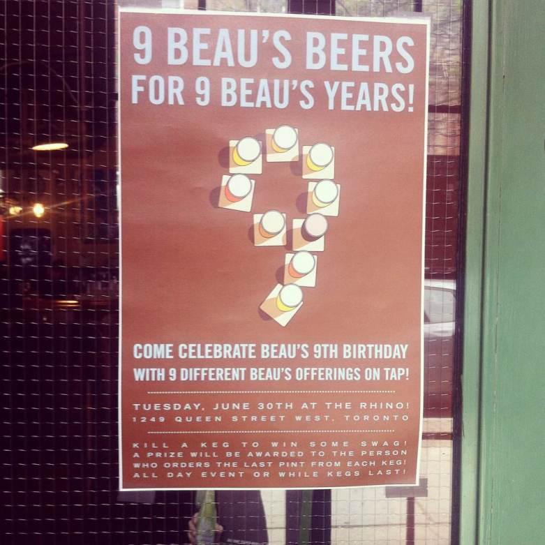 Beau's 9 Years Anniversary Party at The Rhino / June 2015