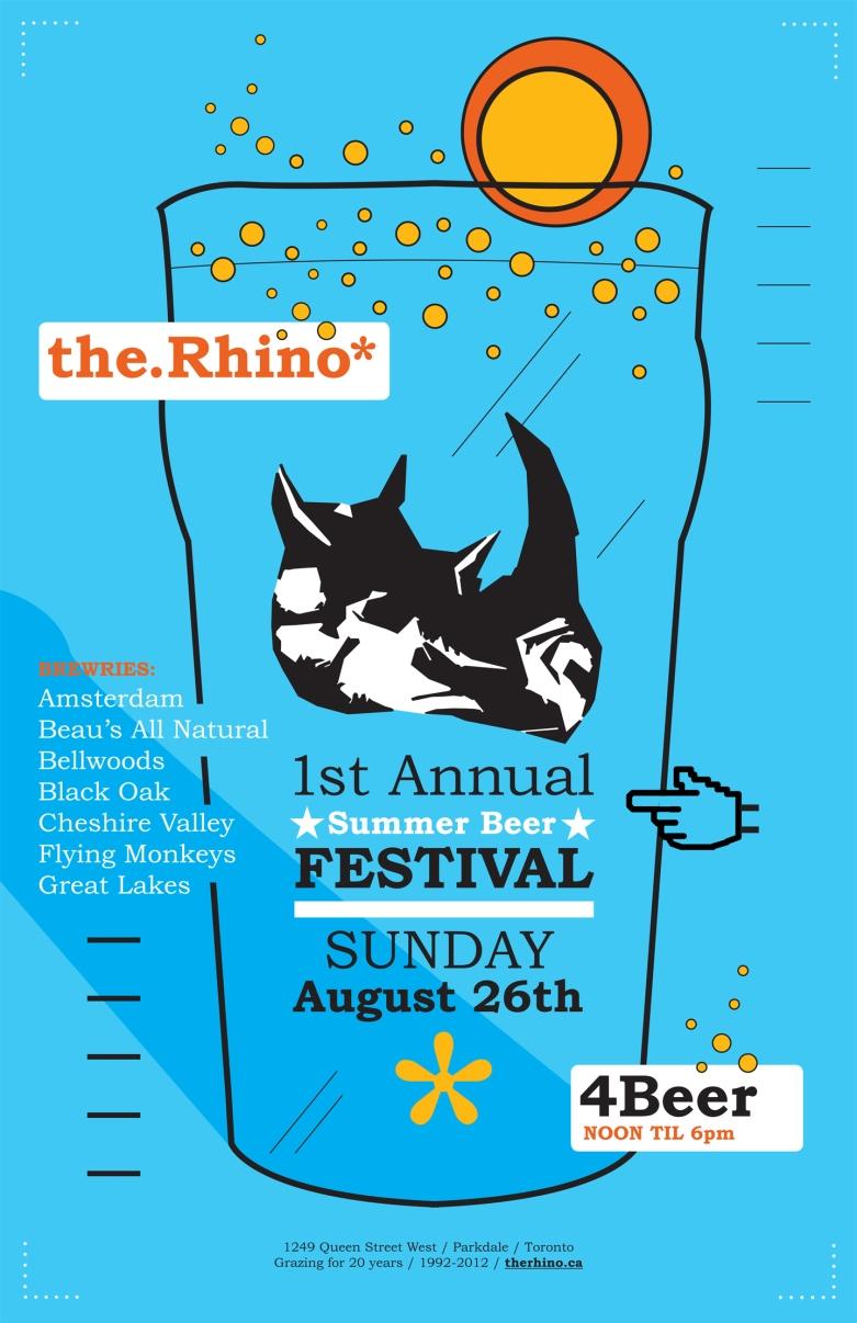 Rhino Summer Beer Festival