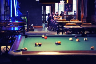 *Pool Table + Main Bar