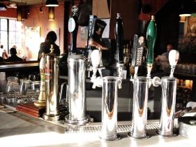 Taps x 11 – Cask Ale / Affligem / Brew Dog Punk IPA / Cameron's / Wellington / Mill St. / *Rhino Special Lager / Arrogant Bastard / Innocente Mike Weisson Am. Pale Wheat Ale/ Mill St.