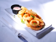 → Deep Fried Calamari – with tandoori spices and raita