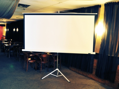 9' Movable Screen